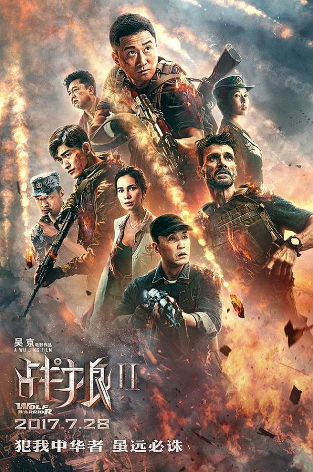 """""""Chiến Lang 2"""" vượt """"Mỹ Nhân Ngư"""", trở thành phim ăn khách nhất Trung Quốc - Ảnh 1."""