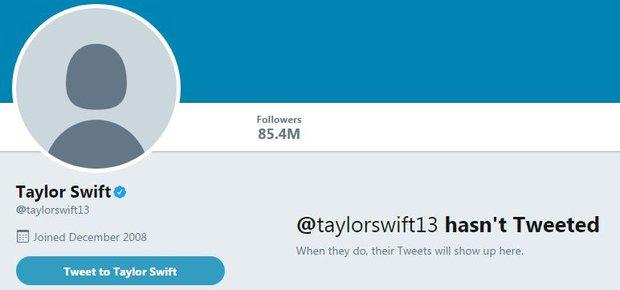 Dân tình hoang mang khi các tài khoản mạng xã hội hàng chục triệu người theo dõi của Taylor Swift bỗng biến mất! - Ảnh 1.