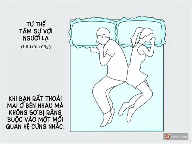 Tư thế ngủ nói lên điều gì về mối quan hệ yêu đương của bạn? - Ảnh 1.