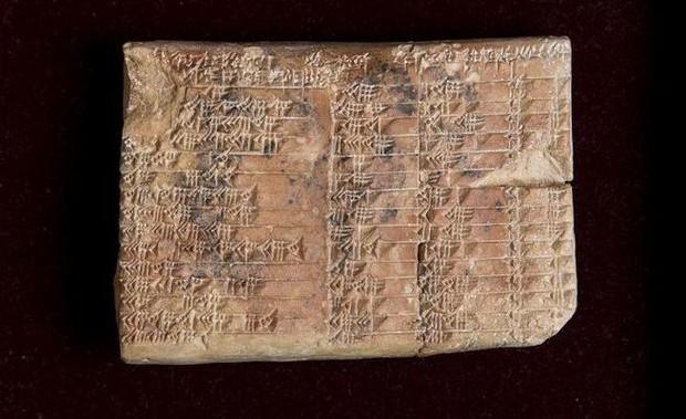Lịch sử toán học nhân loại sẽ được viết lại bởi phát hiện văn tự 3.700 tuổi của người Babylon này - Ảnh 1.