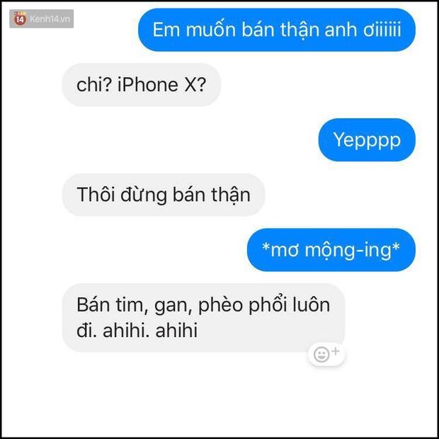 Bí kíp né thính khi cơn bão iPhone X đang hoành hành từ những anh chàng bạn trai siêu lầy lội - Ảnh 1.