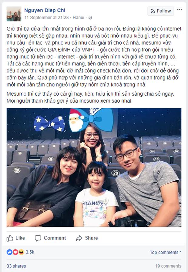 Các hot mom Việt chia sẻ khoảnh khắc hạnh phúc bên gia đình khiến fan thích thú - Ảnh 3.