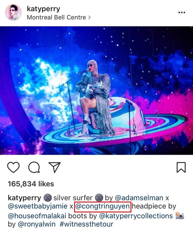 Sau Rihanna, đến lượt Katy Perry diện thiết kế của Công Trí và diện hẳn 3 bộ! - Ảnh 1.