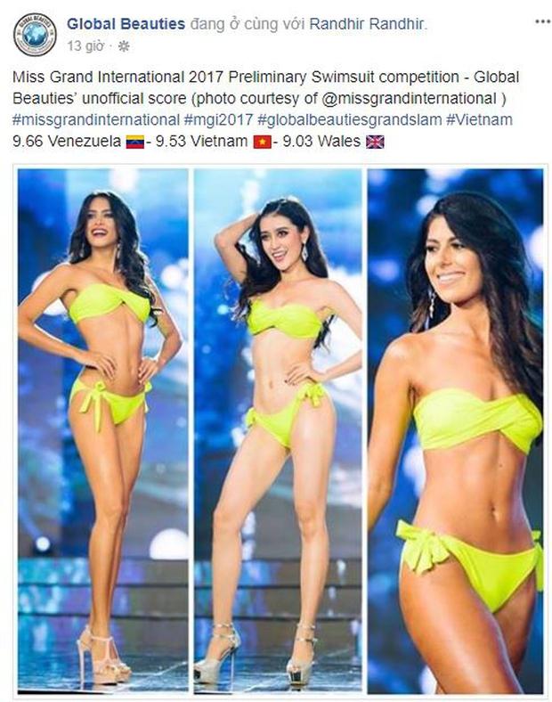 Huyền My được chuyên trang sắc đẹp Global Beauties chấm điểm cao thứ 3 sau đêm thi Bán kết - Ảnh 1.