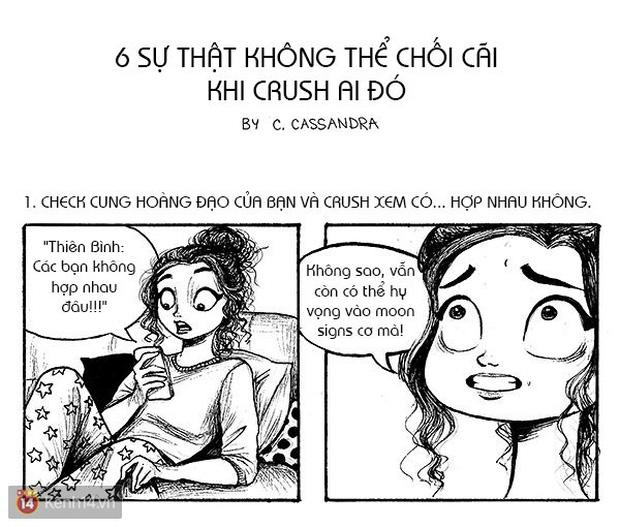 Hóa ra khi crush một ai đó, chúng ta sẽ có những trải nghiệm ngớ ngẩn như thế này đây! - Ảnh 1.