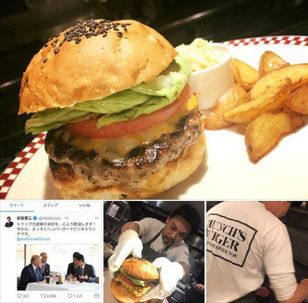 Chiếc hamburger tổng thống Donald Trump từng ăn đang được bán đắt như tôm tươi ở Nhật có gì? - Ảnh 5.