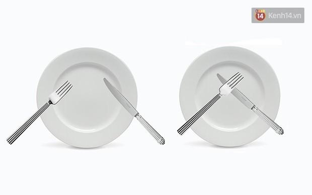 5 cách đặt dao dĩa nên ghi nhớ để là người khi ăn trông cũng sang - Ảnh 1.