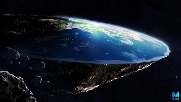 Phát biểu gây sốc của hơn 500 chuyên gia: Trái Đất là một chiếc đĩa bay trôi nổi trong vũ trụ - Ảnh 1.