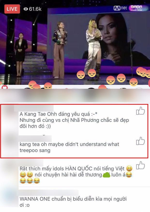 Tranh cãi quanh việc một số khán giả la ó, làm dấu hiệu phản đối khi Chi Pu hát tiếng Hàn trên sân khấu MAMA - Ảnh 3.