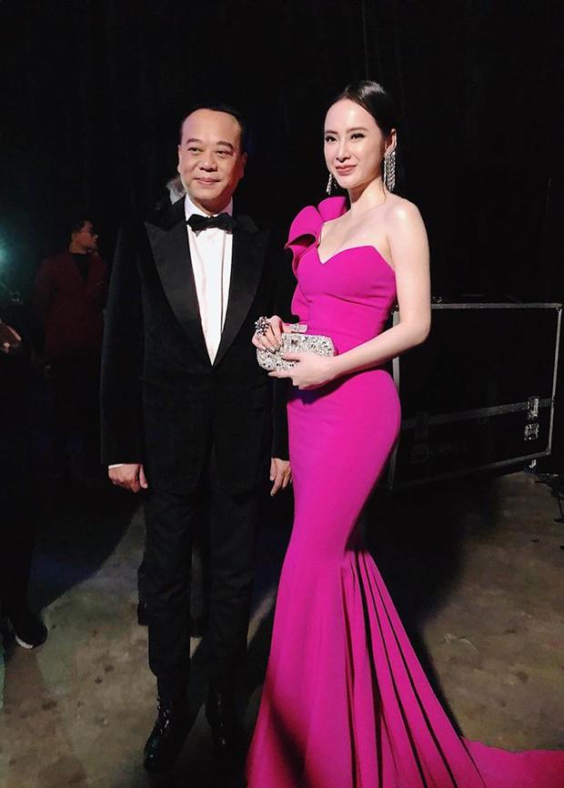 Angela Phương Trinh gợi cảm hội ngộ diễn viên TVB đình đám Âu Dương Chấn Hoa trên thảm đỏ tại Singapore - Ảnh 1.