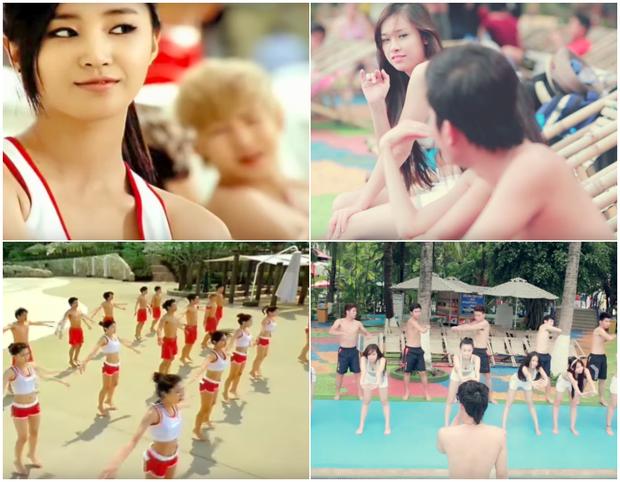 Không đạo kịch bản thì là cảnh quay, loạt MV Việt này từng khiến fan Kpop nổi giận vì vay mượn ý tưởng lộ liễu - Ảnh 22.