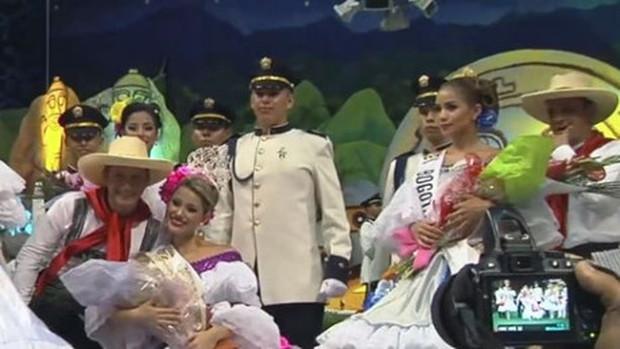 Á hậu Colombia lộ biểu cảm đanh đá khi thua cuộc trong đêm chung kết - Ảnh 6.