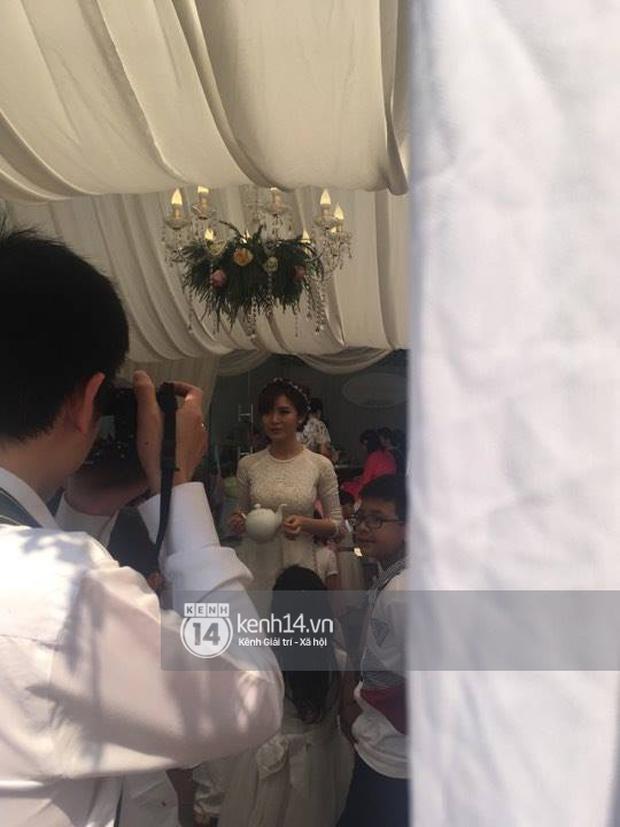 ĐỘC QUYỀN: Tú Linh M.U cực xinh đẹp trong đám cưới - Ảnh 4.