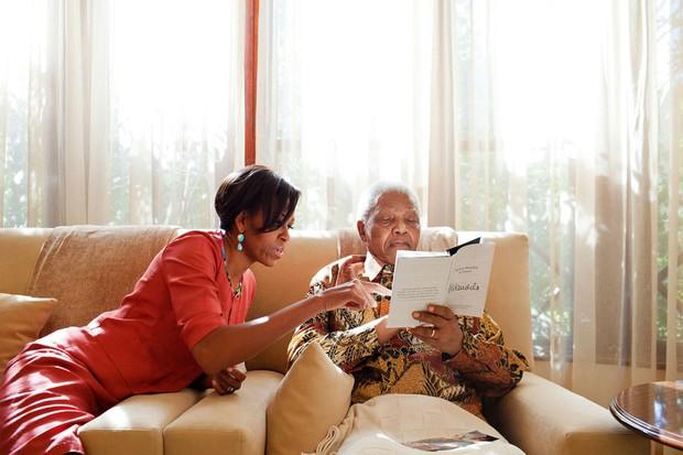 Dù phải chia tay thế nhưng người ta sẽ mãi nhớ về bà Michelle Obama với 30 hình ảnh này - Ảnh 19.