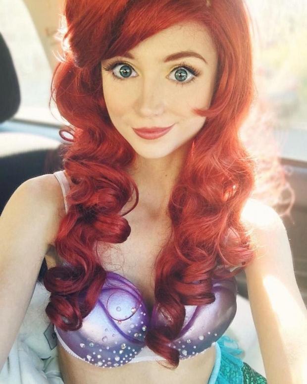 Cô gái dành 300 triệu đồng để trở thành các nàng công chúa Disney, và lý do đáng yêu phía sau - Ảnh 10.
