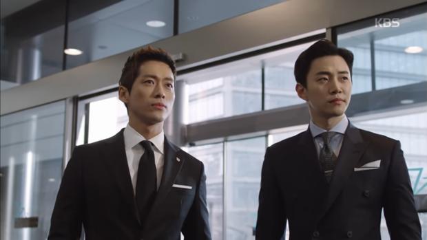 """""""Sếp Kim"""": Diện vest bảnh bao, Nam Goong Min và Jun Ho """"song kiếm hợp bích"""" - Ảnh 11."""