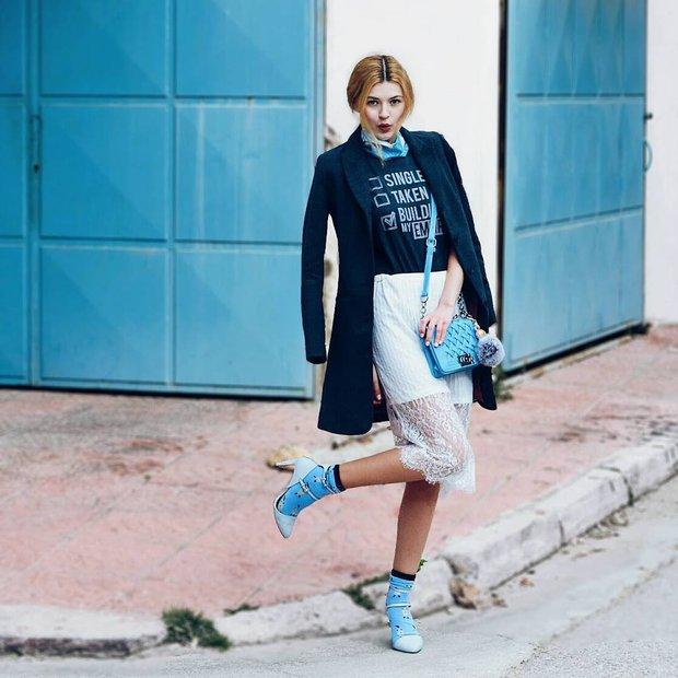 Đổ gục với street style đẹp-xịn-chất của các bạn trẻ thế giới - Ảnh 10.