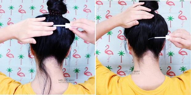 Bí kíp xử lí tóc con bất trị của con gái Hàn hóa ra nằm cả ở mascara chải tóc - Ảnh 8.