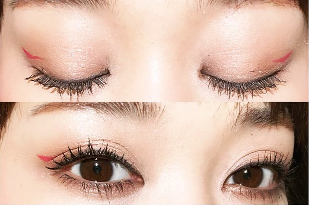 Trong khi bạn còn đang kẻ mắt mèo thì con gái Nhật đã chuyển sang kiểu kẻ mắt siêu đơn giản mà hay ho này - Ảnh 10.