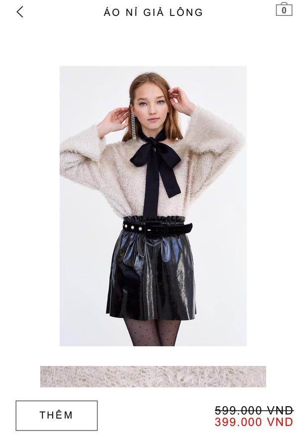 14 mẫu áo len, áo nỉ dưới 500.000 VNĐ trendy đáng sắm nhất đợt sale này của Zara - Ảnh 1.