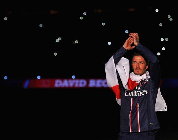 Beckham lọt vào danh sách huyền thoại của PSG - Ảnh 1.