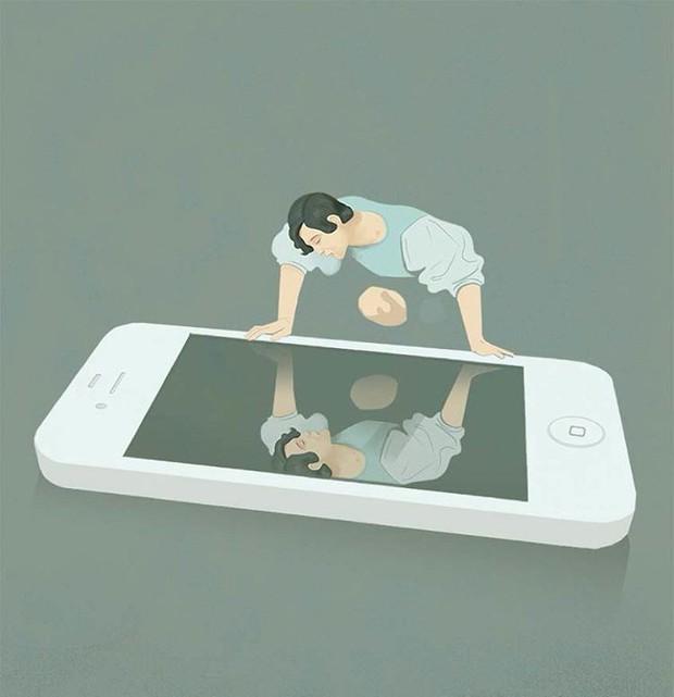 Những bức tranh biếm họa về con người khiến chúng ta phải giật mình suy ngẫm - Ảnh 1.