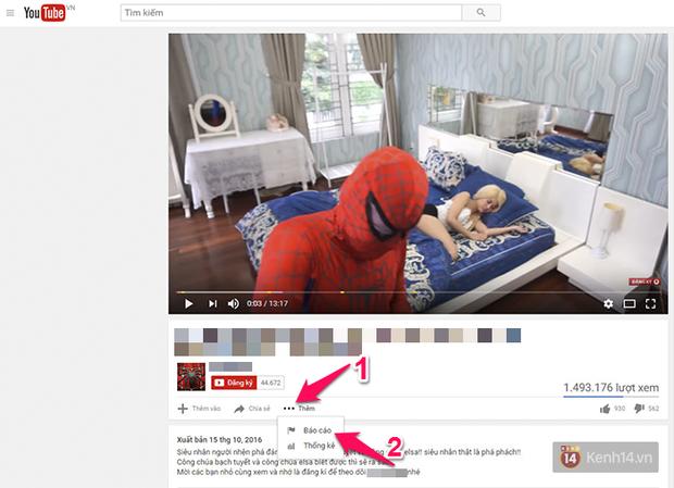 Bắt gặp video độc hại trên Youtube, đây là cách để bạn chôn nó ngay trước khi kịp đẻ trứng - Ảnh 2.