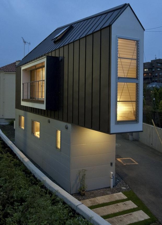 Căn nhà Nhật Bản nhìn thì nhỏ hẹp vậy thôi, nhưng khi bước vào trong bạn sẽ phải bất ngờ - Ảnh 10.