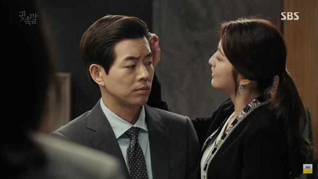 """""""Whisper"""": Lee Sang Yoon và vợ """"tình tứ"""" ngay trước mặt Lee Bo Young - Ảnh 1."""