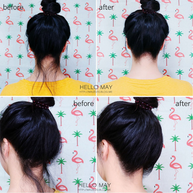 Bí kíp xử lí tóc con bất trị của con gái Hàn hóa ra nằm cả ở mascara chải tóc - Ảnh 9.
