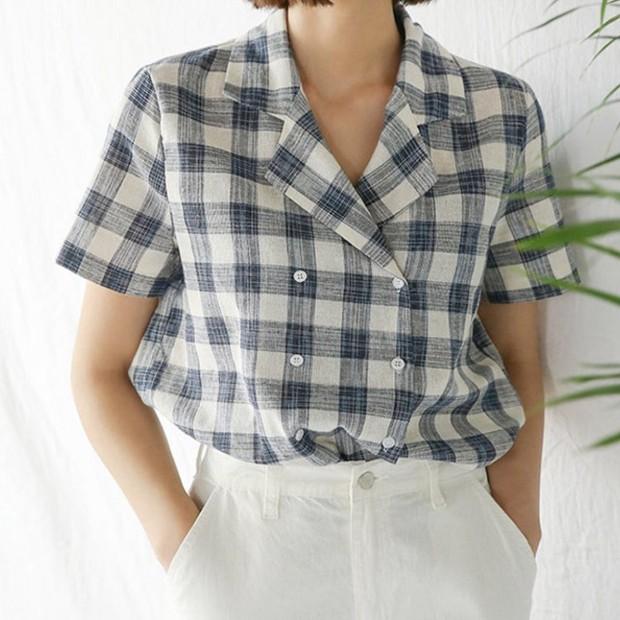 Nếu đã chán sơmi truyền thống, bạn nhất định nên tăm tia áo sơmi 2 hàng khuy cực cá tính sắp thành hot trend này - Ảnh 9.