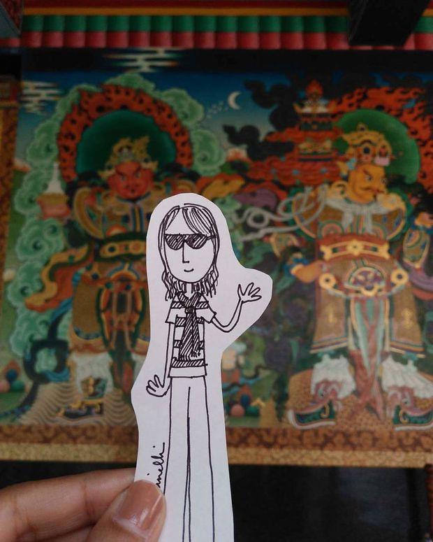 Bộ ảnh du lịch độc đáo của cô gái luôn ngại ngùng khi đứng trước camera - Ảnh 21.