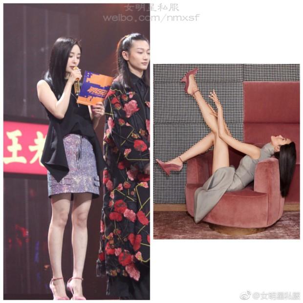 BST giày cao gót bá đạo của Phạm Băng Băng, Angela Baby: lênh khênh như cà kheo, thậm chí không có gót nhìn đã muốn trẹo chân - Ảnh 10.