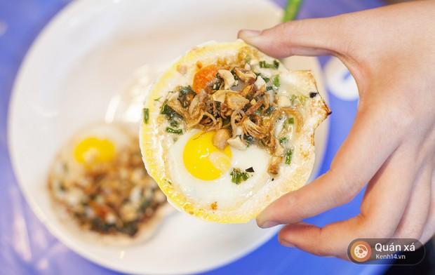 Món mới cho ngày lạnh ở Hà Nội: Sò điệp nướng trứng cút nóng hổi cực hấp dẫn - Ảnh 7.