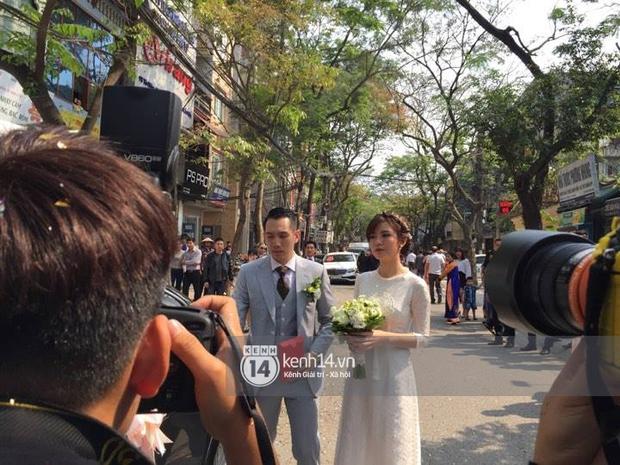 ĐỘC QUYỀN: Tú Linh M.U cực xinh đẹp trong đám cưới - Ảnh 9.