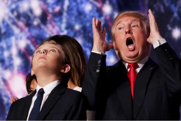 Chiều cao đáng nể và 13 sự thật ít người biết về cậu út nhà Tổng thống Donald Trump - Ảnh 23.