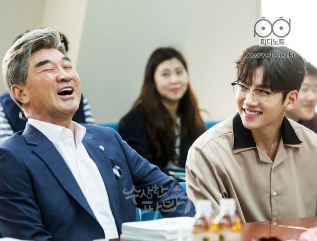 Ji Chang Wook siêu điển trai và đáng yêu bên bạn diễn phim mới - Ảnh 16.