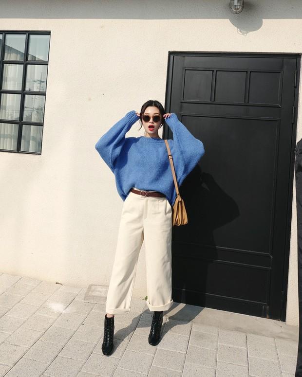 Áo len màu mè dễ thành hot trend, hội mê ăn diện lại có cớ để sắm thêm đồ cho đông này - Ảnh 14.