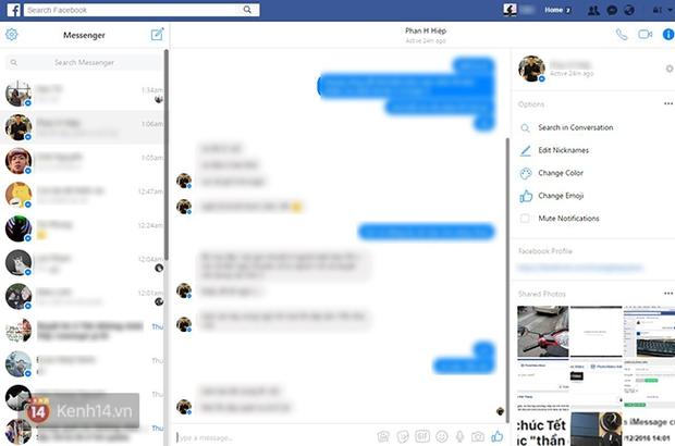 Facebook nền web vừa cập nhật tính năng live stream, giao diện hộp thư cũng thay đổi - Ảnh 8.