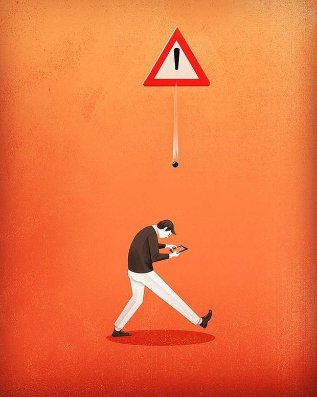Những bức tranh biếm họa về con người khiến chúng ta phải giật mình suy ngẫm - Ảnh 7.