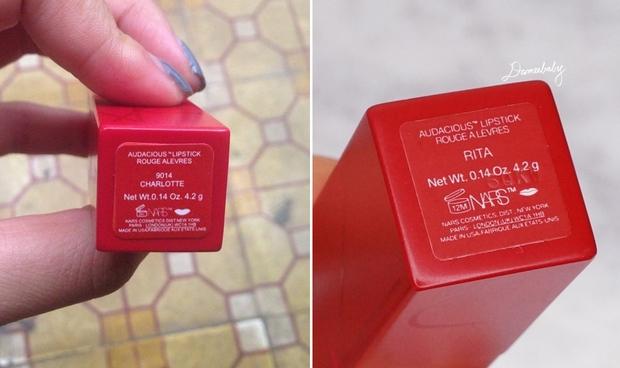 Cảnh báo: Son Nars vỏ đỏ đình đám cũng đã có hàng fake, nguy cơ bị mua son giả giá thật cao! - Ảnh 13.