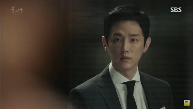 """""""Whisper"""": Lee Sang Yoon và vợ """"tình tứ"""" ngay trước mặt Lee Bo Young - Ảnh 3."""