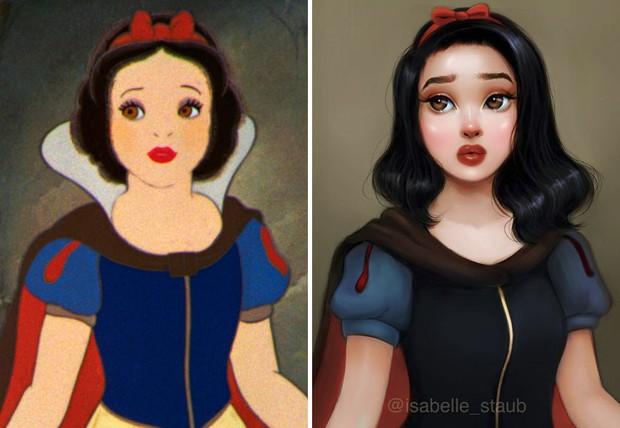 Chiêm ngưỡng nhan sắc lồng lộn của những nàng công chúa Disney sau khi đi phẫu thuật thẩm mỹ - Ảnh 23.