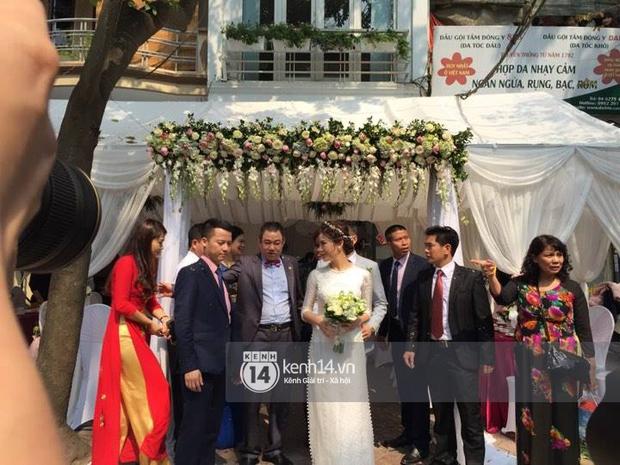 ĐỘC QUYỀN: Tú Linh M.U cực xinh đẹp trong đám cưới - Ảnh 8.