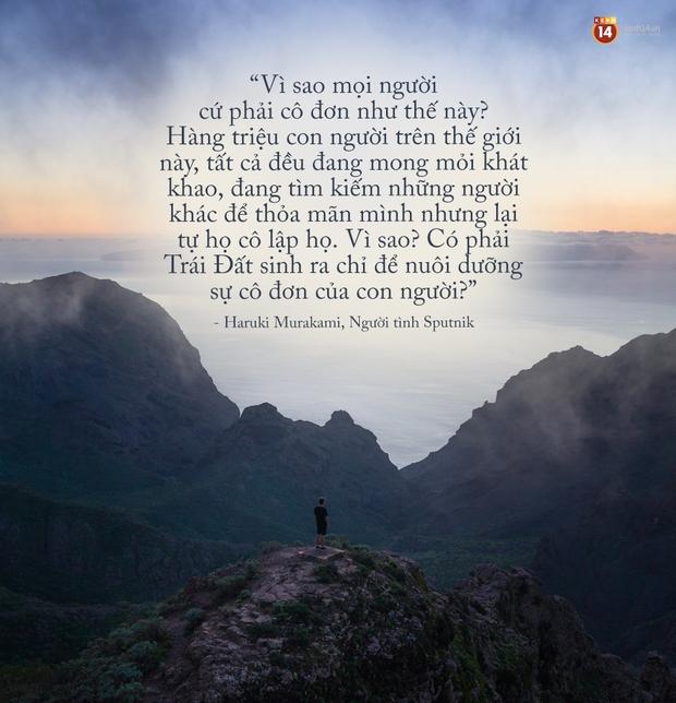 17 câu trích dẫn của Haruki Murakami, là 17 thông điệp chạm đến trái tim về tình yêu, về cuộc đời - Ảnh 27.