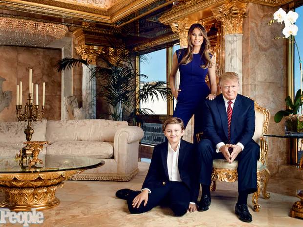 Chiều cao đáng nể và 13 sự thật ít người biết về cậu út nhà Tổng thống Donald Trump - Ảnh 17.