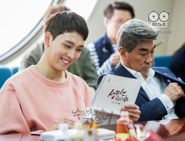 Ji Chang Wook siêu điển trai và đáng yêu bên bạn diễn phim mới - Ảnh 11.