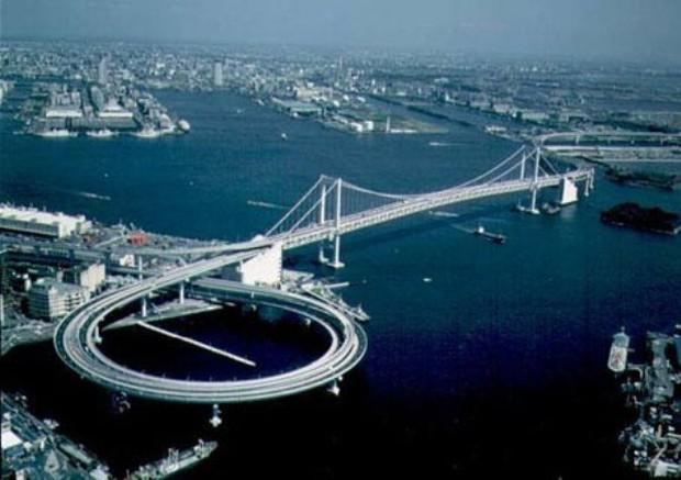 Không phải photoshop đâu, đây chính là công trình giao thông thứ thiệt tại Nhật Bản đấy - Ảnh 13.