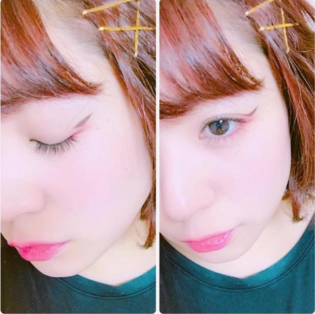 Trong khi bạn còn đang kẻ mắt mèo thì con gái Nhật đã chuyển sang kiểu kẻ mắt siêu đơn giản mà hay ho này - Ảnh 12.