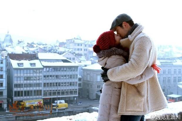 Khoảnh khắc đáng nhớ của 13 cặp đôi màn ảnh Trung dưới trời đông lành lạnh - Ảnh 14.